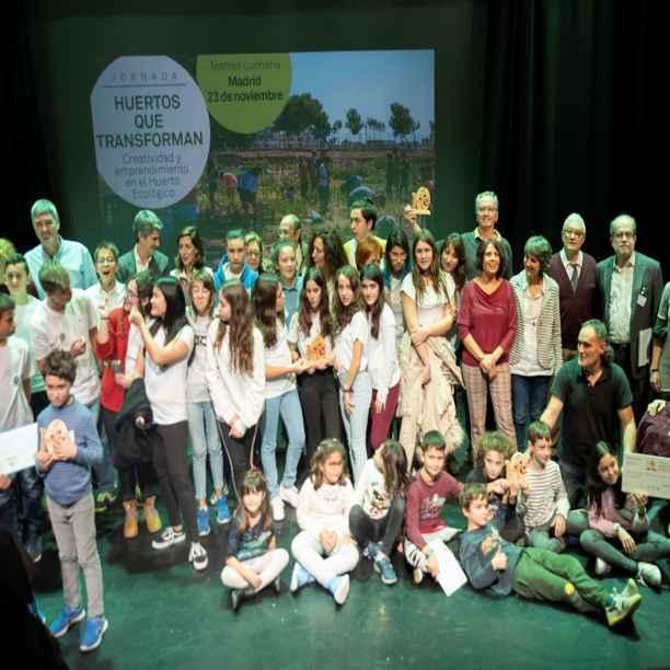 Lo que hemos aprendido de los ganadores del V Premio Huertos Educativos